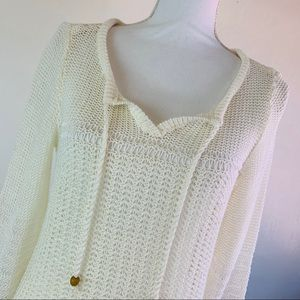 Lucky Brand Loose Knit Sweater M